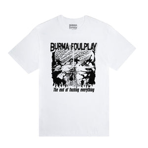 """END OF FUCKING EVERYTHING"" T-Shirt (White)"