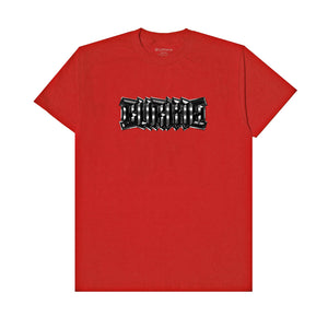 """METAL LOGO"" T-Shirt (Red)"