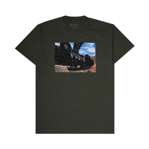 """GAME OVER"" T-Shirt (Military Green)"