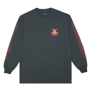"""REVENGE FANTASY"" Long Sleeve T-Shirt (Charcoal)"