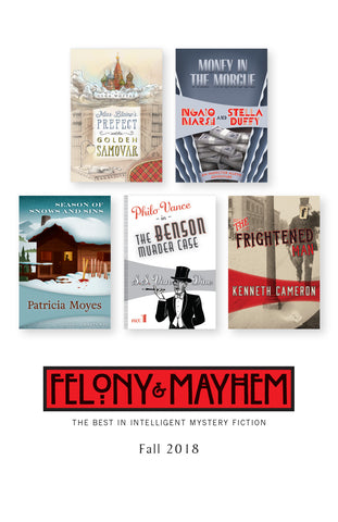 Felony & Mayhem catalog Fall 2108