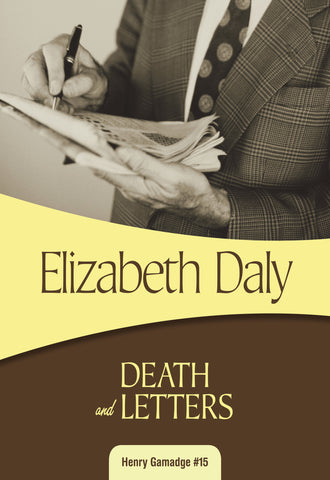 Death and Letters, by Elizabeth Daly