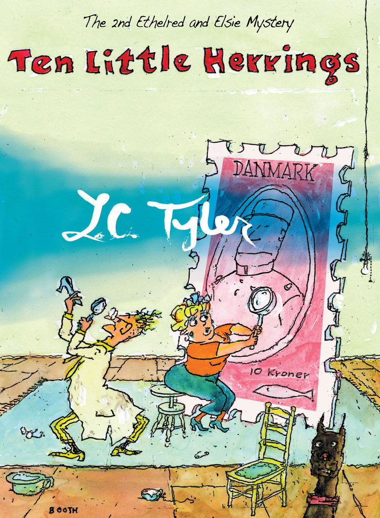 Ten Little Herrings, by L.C. Tyler
