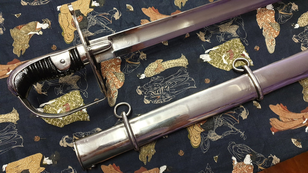 1796 Pattern British Heavy Cavalry Troopers Sword
