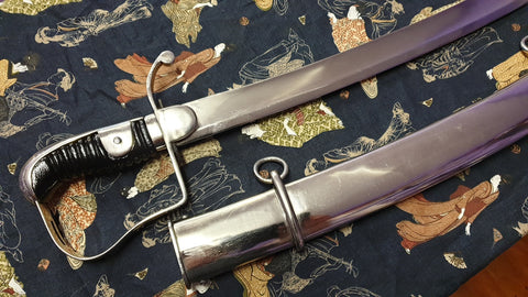 1796 Pattern British Light Cavalry Troopers Sabre Sword