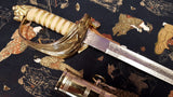 1827 Pattern British Commonwealth Naval Officers Sword Current Wlkinson Pattern Real Rayskin