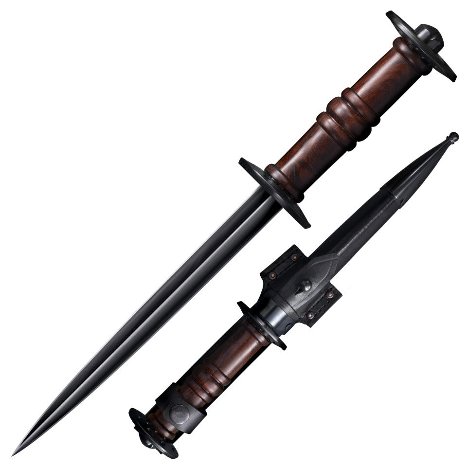 Cold Steel Tactical Rondel Dagger Knife Late Medieval Knight Side Arm