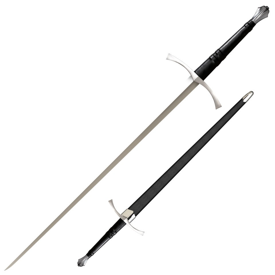 Cold Steel Italian Long Sword, 1060 Spring Steel Live Blade