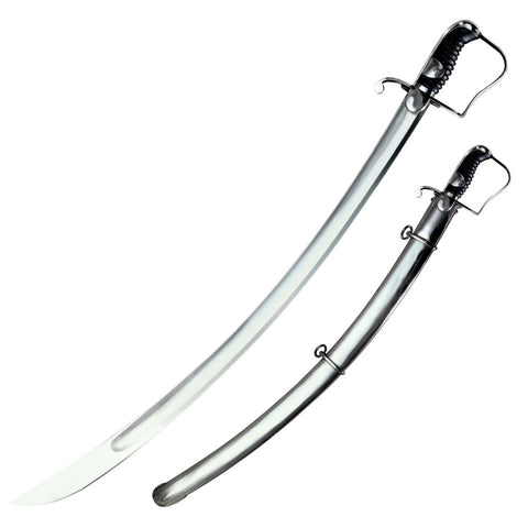 Cold Steel 1796 British Light Cavalry Saber Sword 1055 Steel Live Blade