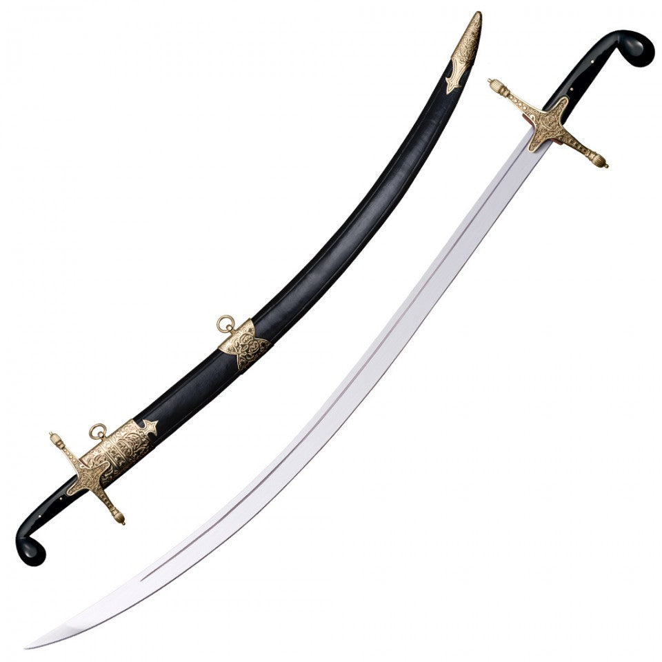 Cold Steel Persian Shamshir Saber Sword 1055 Steel Live Blade