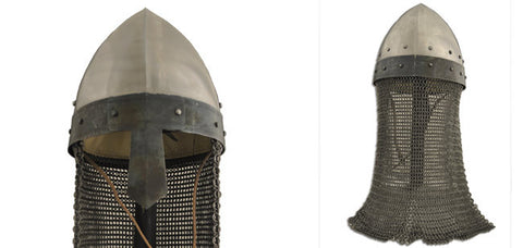 Norman Nasal Helm with Aventail 16G