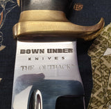 Down Under Knives Outback Bowie Knife Crocodile Dundee Inspired
