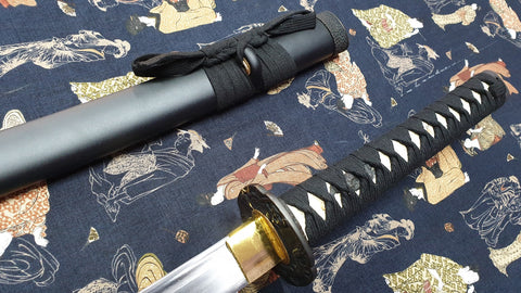 Dragon Katana Japanese Sword, Hand Forged Carbon Steel Blade