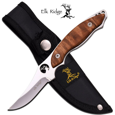 Elk Ridge General Purpose Fixed Blade Camp Skinning Knife