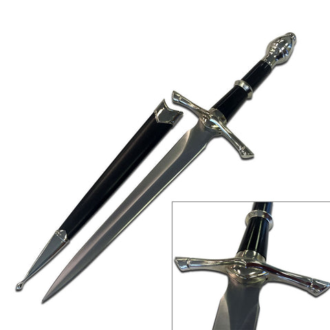 The Lord of the Rings Strider's Ranger Miniature Sword Dagger Knife