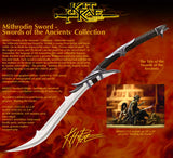Kit Rae Design Mithrodin Sword of the Ancients Collection 420 Stainless Steel Blade