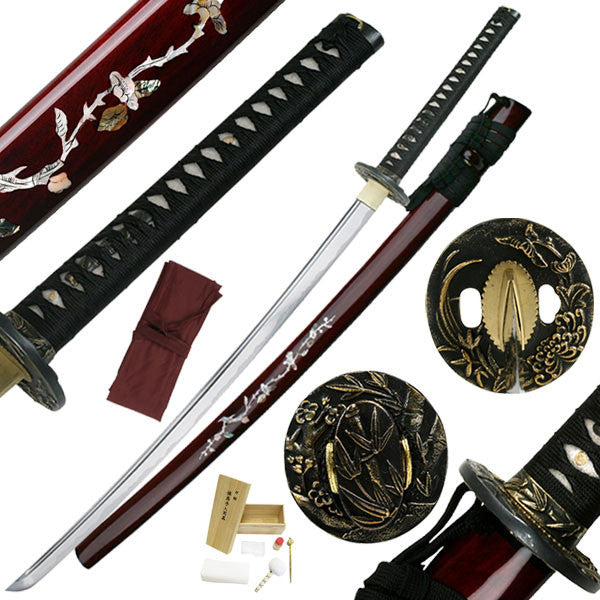 Sakura Katana, Mother of Pearl Inlay