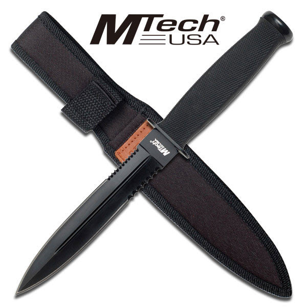 M-Tech Large Commando Style Dagger Knife with Sheath
