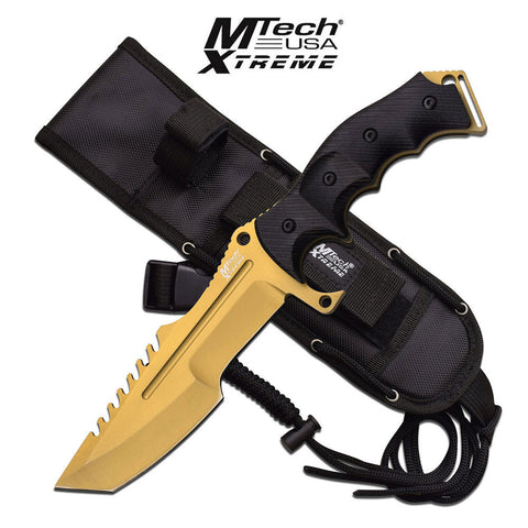 M-Tech Extreme Combat Knife Gold Edition, Call of Duty Ghosts