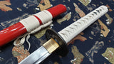 Oni Katana Japanese Sword, Hand Forged Carbon Steel Blade