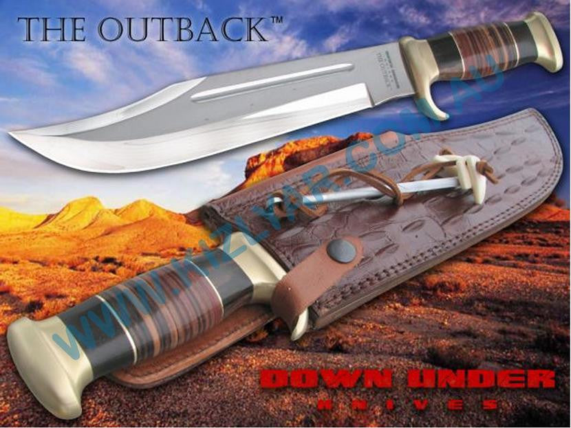 Down Under Knives Outback Bowie