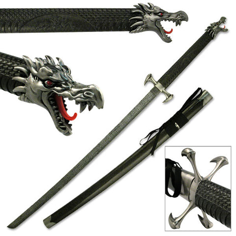 Dragon Claw Katana with Stand