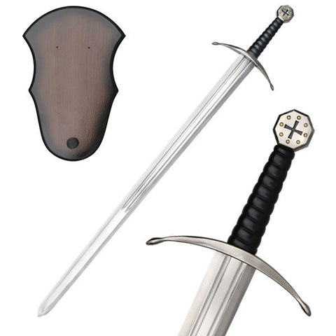 Knights Templar Crusader Medieval Style Decorative Sword