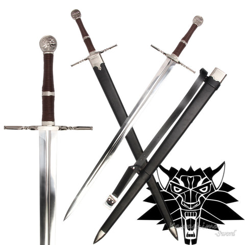 The Witcher 3 Wild Hunt Geralt of Rivia Serpentine Silver Sword