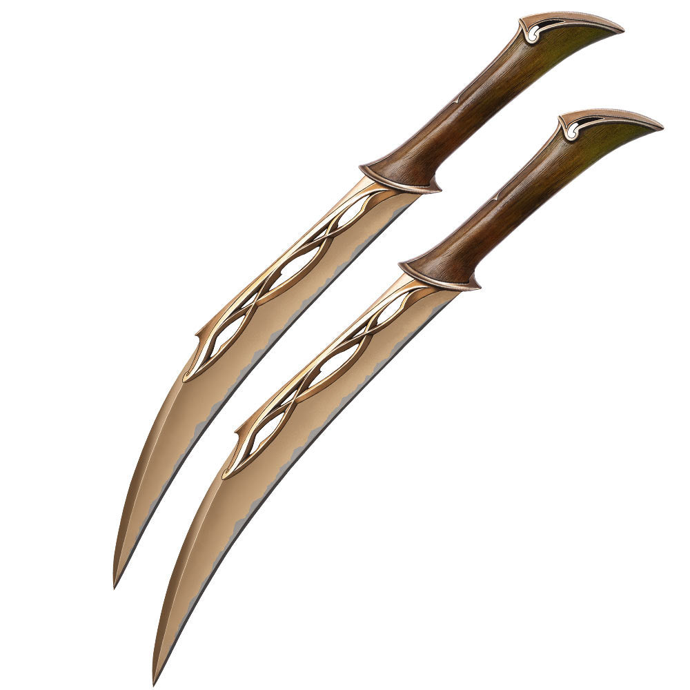 The Hobbit Fighting knives of Tauriel, United Cutlery