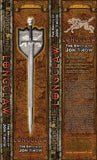 $60 Off Factory Seconds,  Game of Thrones Longclaw Book Edition Official Licensed, Sword of Jon Snow, Valyrian Steel Brand