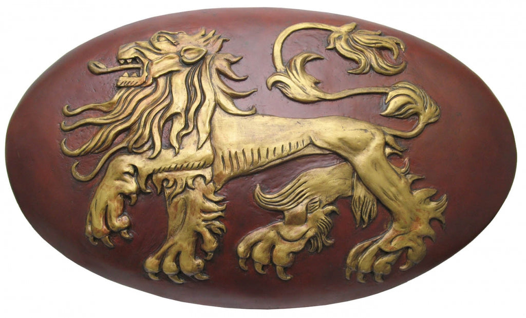 Game of Thrones Lannister Shield Officially Licensed from Valyrian Steel