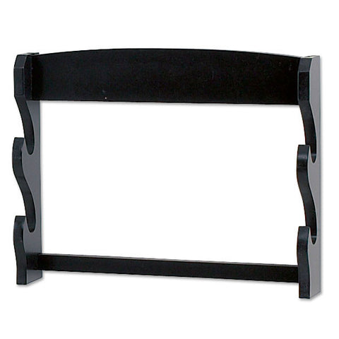Double Sword Wall Display Basic Matt Black Finish
