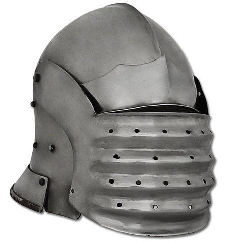 Bellows Face Sallet Helmet, 14G