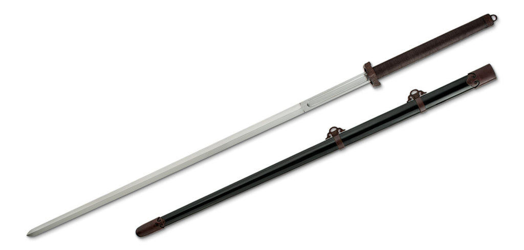 $200 Off, Taotie Jian Chinese Long Sword, 5160 Spring steel Live Blade