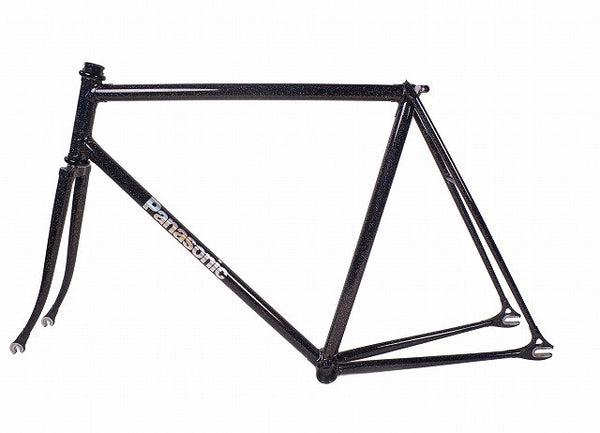 Panasonic Bad boy Frame in Black Rainbow Flake 550mm