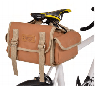OSTRICH SP-731 Canvas Saddle Bag CAMEL - alex's cycle