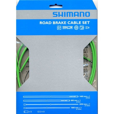 SHIMANO Colour Brake Cable Set - alex's cycle