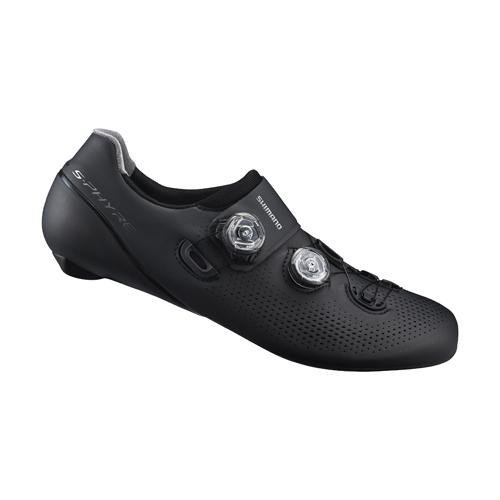 Shimano RC9 S-Phyre SH-RC901-E Wide Fit Black Shoes Size 48