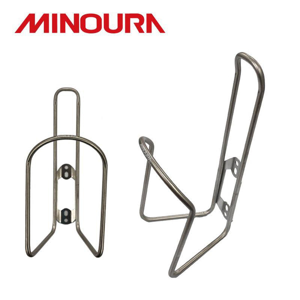 MINOURA SB-100 Stainless Tube Bottle Cage - alex's cycle