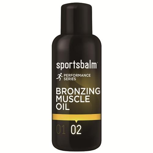 Sportsbalm Yellow 02 Bronzing Muscle Oil