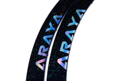 ARAYA SUPERAERO Custom-made Black Rainbow Flake Rim
