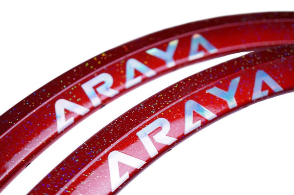 ARAYA SUPERAERO Custom-made Rim Nakano Red - alex's cycle