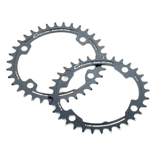 SUGINO Cycloid CY4-SHC Super Hill Climb Oval Chainring