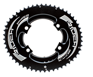 RIDEA DUO-OVAL Full Chainring for Shimano Four arm Crank - alex's cycle