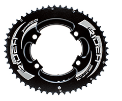 RIDEA DUO-OVAL Full Chainring for Shimano Four arm Crank