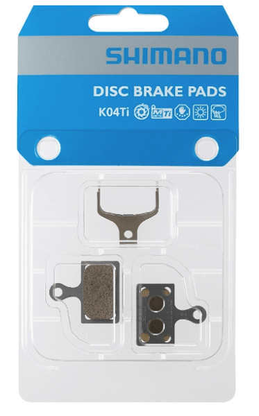 Shimano K04Ti Disc Brake Metal Pads