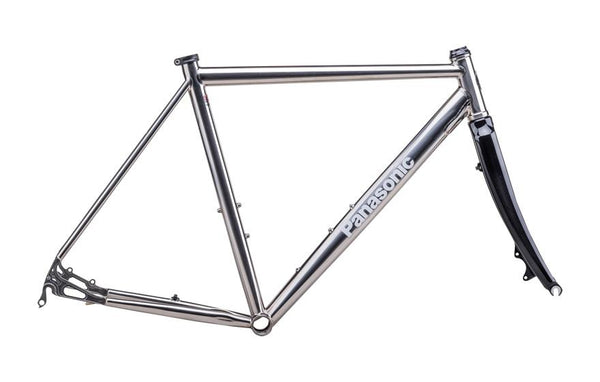 Panasonic FRTD03 Titanium Enduro Disc Brake Road Frame