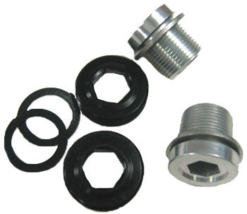 SUGINO AUTEX4 Duralumin M15×1.0  BB Axle Bolts & Nuts - alex's cycle
