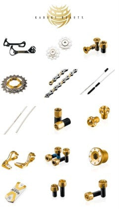 LIMITED EDITION SHIMANO YUMEYA UPGRADE KIT for XTR