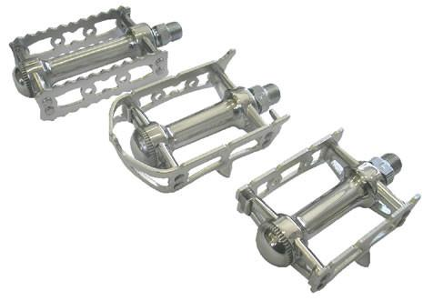 MKS PRIME SYLVAN wz Silver cages - alex's cycle